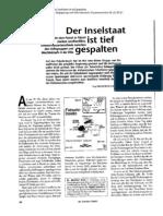 Ernst, Manfred & Holger Szesnat 2000. Der Inselstaat ist tief gespalten. Der Überblick