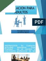 Psicologia Educativa 13 - Andragogía