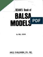 Balsa Models_Bill Dean