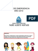 Plan Emergencia CTPH