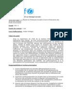 Pub Spécialiste Suivi Socio-Economique Et Evaluation NO C Francais 7 November 2015