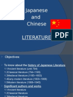 Literature of China And Japan