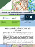 Produsele ESRI Instrumente Pentru APL