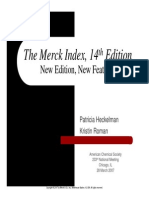 Merck Index Tutorial