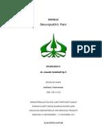 Referat Neuropathic Pain (Andriany Chairunnisa - 03011026)