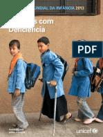Crianças Com Deficiência - Situação Mundial Da Infância 2013