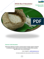 12th November ,2015 Daily Exclusive ORYZA Rice E_Newsletter by Riceplus Magazine