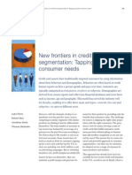 MoP19_New Frontiers in Credit Card Segmentation