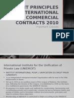 Unidroit Ppt (Report - Group 2 Ibt)