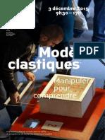 Journée d'étude « Modèles clastiques – Manipuler pour comprendre »