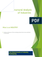 2.the Structural Analysis of Industries