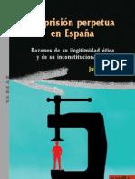 Prisión Perpetura en España J. Rios