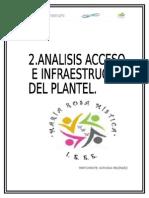 Acceso e Infraestructura Del Plantel