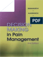 Decision Making in Pain Management
