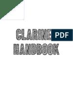 Clarinet Handbook