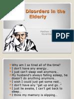 Sleep Disorders in the Elderly20101
