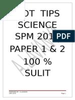 Science Spm 2015