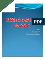 Criticità e Prospettive Per Il Bilancio 2011_Dottori-Nardi