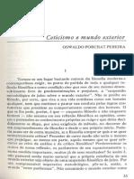 Porchat - Ceticismo e Mundo Exterior