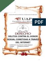 Delitos Contra El Honor Sexual Cometidas a Traves Del Internet