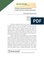 CARVALHO, D. S S. Subjetivismo e Movimentos Sociais