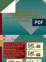 Ley de Inducción de Faraday y Aplicaciones, Ley de Lenz, Generadores y Motores