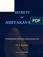 Secrets of Ashtakavarga (1)