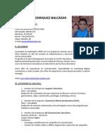 CV Daniela Rodriguez Balcazar Español