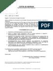 Atti istruttori Consiglio Comunale del 17.11.2015