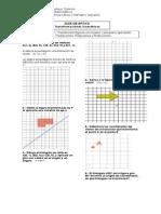 Guía Transformaciones Isométricas