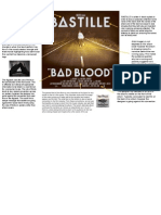 Bastille Bad Blood Digipack Front Cover