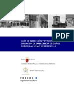 Inspeccion y evaluacion de emergencia de edificios