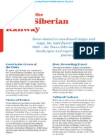 Trans Siberian Railway 5 Plan Preview