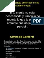 Dinámicas Gimnasia Cerebral