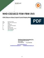 NHD-C0216CiZ-FSW-FBW-3V3