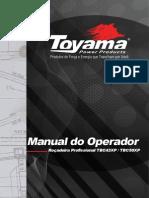 ROÇADEIRA TOYAMA Manual Do Operador Tbc43xp Tbc50xp