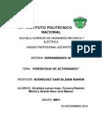Portafolio Segundo Departamental