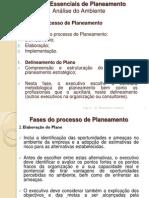 Fases Essenciais de Planeamento