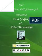 2015 News Hall of Fame Leaflet