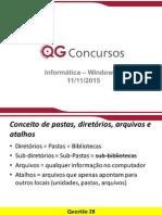 Informática - 10ª Turma QG Concursos - Windows 7