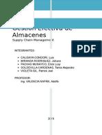 Gesstión Efectiva de Almacenes