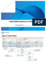 In-band EMS Guidelines for IPASOLINK