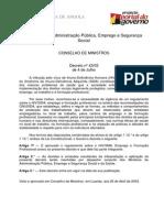 Decreto Hiv Sida Formação