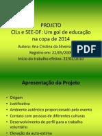 Slides da apresentação do projeto