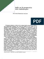 Francisco Rodriguez Arados. El Mito Indio en La Perspectiva Del Mito Indoeuropeo