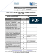 Checklist KOM