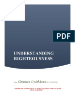 Understanding Righteousness by Pastor Chris Oyakhilome