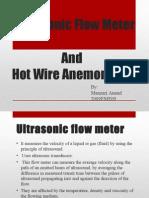 Ultrasonic Flowmeter and Hot Wire Anemometer