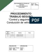 Procedimiento Control Vel Maxima Gps 2015