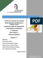 Práctica nutricion Fibrosis Quística
